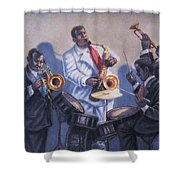 Big Jay And Company Shower Curtain