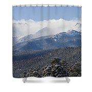 Blizzard Peak Shower Curtain