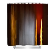 Blur City Shower Curtain