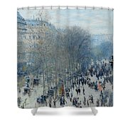 Boulevard Des Capucines Shower Curtain