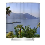 Brissago Islands Shower Curtain