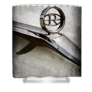 Buick Riviera Hood Ornament  Shower Curtain