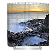 Cabo De Gata Shower Curtain