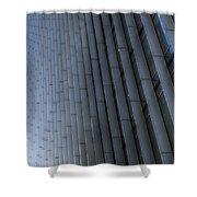 Canary Wharf Abstract Shower Curtain