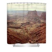 Canyonlands National Park In Utah Shower Curtain