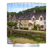 Castle Combe Shower Curtain by Joana Kruse