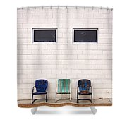 Ace Chairs Palm Springs Shower Curtain