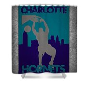 Charlotte Hornets Shower Curtain