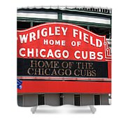 Chicago Cubs - Wrigley Field Shower Curtain