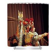 China Opera, 1979 Shower Curtain