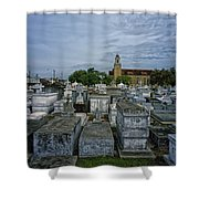 City Of The Dead - New Orleans Shower Curtain