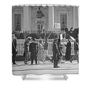 Civil Rights Protest, 1965 Shower Curtain