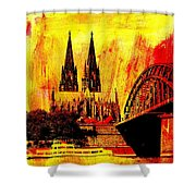 Cologne Shower Curtain