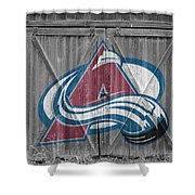 Colorado Avalanche Shower Curtain