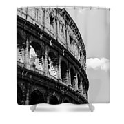Colosseum - Rome Italy Shower Curtain