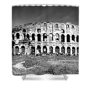 Colosseum Shower Curtain by Stefano Senise
