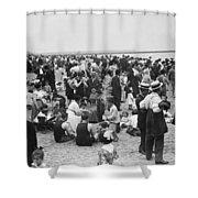 Coney Island Beach Shower Curtain