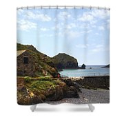 Cornwall - Mullion Cove Shower Curtain