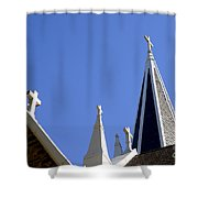 4 Crosses Shower Curtain