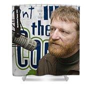 David Lowery Of Cracker Shower Curtain