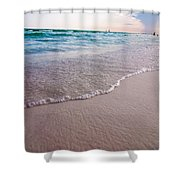 Destin Florida Beach Scenes Shower Curtain