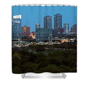 Downtown Fort Worth Texas Shower Curtain