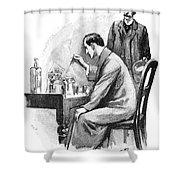 Doyle: Sherlock Holmes Shower Curtain