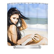 Dream Holiday Shower Curtain