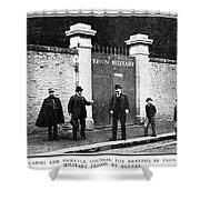 Dreyfus Affair, 1899 Shower Curtain