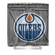 Edmonton Oilers Shower Curtain