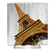 Eiffel Tower - Paris Shower Curtain