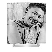 Ella Fitzgerald (1917-1996) Shower Curtain