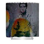 Elvis Shower Curtain