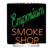 Emporium Smoke Shop Shower Curtain