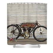 Excelsior Board Track Racer II Shower Curtain