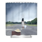 Farewell Shower Curtain by Joana Kruse