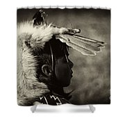 4 - Feathers Shower Curtain