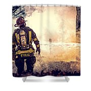 Firefighters Shower Curtain