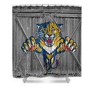 Florida Panthers Shower Curtain