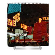 Fremont Street Experience Las Vegas Nv Shower Curtain