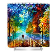 Freshness Of Cold Shower Curtain