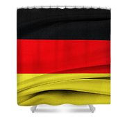 German Flag Shower Curtain