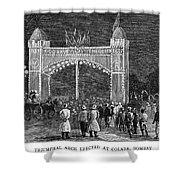 Golden Jubilee, 1887 Shower Curtain