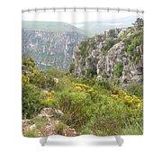 Grand Canyon Du Verdon - France Shower Curtain