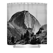 Half Dome Shower Curtain by Cat Connor