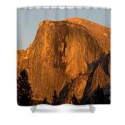 Half Dome, Yosemite Np Shower Curtain