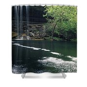 Hamilton Pool Nature Preserve Shower Curtain