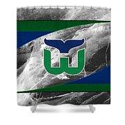 Hartford Whalers Shower Curtain