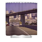 Heading Into The Busy Part Of San Francisco Shower Curtain