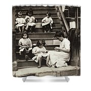 Hine Home Industry, 1912 Shower Curtain